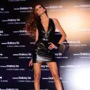 Izabel Goulart Samsung Galaxy S6 S6 Edge Launch At Jk Iguatemi In Sao Paulo