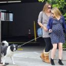 Anna Paquin taking her dog for a walk in Venice, CA (August 24) - 454 x 375