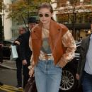 Gigi Hadid – Out and about in Paris