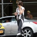 Katie Holmes – Heads to the gym in New York City