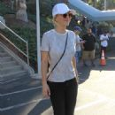 Kaley Cuoco – Arrives at Dodger Stadium for the World Series in LA - 454 x 648