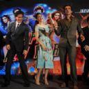 Deepika Padukon and Shah Rukh Khan at the launch of a new song 'Sharabi' - 454 x 302