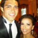 Eva Longoria and Mark Sanchez