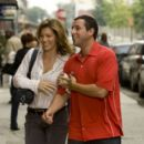 Adam Sandler and Jessica Biel