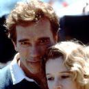 Penelope Miller and Arnold Schwarzenegger