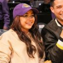 Sarah Hyland – Seen at the Lakers v Bulls game at the Staples Center