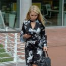 Katie Piper Arrives at her Hotel in Manchester - 454 x 809