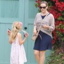 Jennifer Garner: spending a mother-daughter day together in Santa Monica