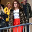 Isla Fisher at BBC Broadcasting House in London - 454 x 809