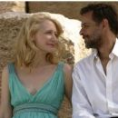 Patricia Clarkson as Juliette and Alexander Siddig as Tareq in CAIRO TIME directed by Ruba Nadda. Photo Credit: Colm Hogan. An IFC Films release