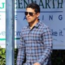 Wilmer Valderrama grabs some lunch in West Hollywood on April 04, 2016