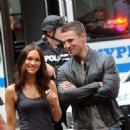 Megan Fox and Stephen Amell