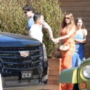 Sofia Vergara and Joe Manganiello– Leaving Soho Housein in Malibu 7/2/2016 - 454 x 533
