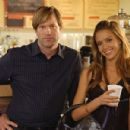 Jessica Alba and Aaron Eckhart