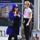 Kristen Stewart with friend out in New York City - 454 x 599