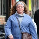 Melissa McCarthy – Filming 'The Kitchen' in NYC - 454 x 687