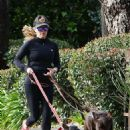 Reese Witherspoon – Out for a jog with her two dogs in Santa Monica - 454 x 681
