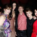 Mick Jagger and L'Wren Scott arrive at the Vanity Fair Oscar party hosted by Graydon Carter held at Sunset Tower on February 27, 2011 in West Hollywood, California - 454 x 313