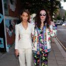 Iris Law – Tiffany Paper Flowers Party in London