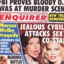 Christine Baranski, Cybill Shepherd - The National Enquirer Magazine Cover [United States] (5 November 1996)