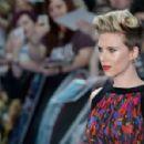 Scarlett Johansson Avengers Age Of Ultron Premiere In London