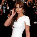 Cheryl Cole: arriving for the screening of 'Amour' during the 65th Cannes International Film Festival in France