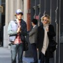 Meg Ryan and her son Jack Quaid out and about in New York City on October 04, 2015 - 404 x 600