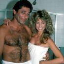 Farrah Fawcett with Joe Namath