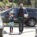 Ben Affleck spotted at his daughter  soccer game on Saturday April 1st, 2017 in Santa Monica, CA - 454 x 328