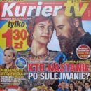 Vahide Perçin, Halit Ergenç - Kurier TV Magazine Cover [Poland] (1 January 2016)