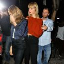 Taylor Swift spotted out in New York City Friday, October 14, 2016 - 454 x 718