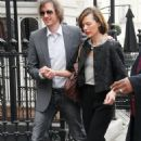 Milla Jovovich candids leaving her hotel in London - Mar 29, 2011