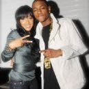 Soulja Boy and Meagan Good at Dogg After Dark (MTV)