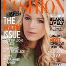 Blake Lively Fashion Magazine Cover October 2014