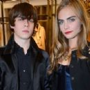 Cara Delevingne and Jake Bugg, December 2012