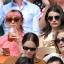 Maisie Williams and Diana Silvers – Wimbledon Tennis Championships 2019 in London - 454 x 355