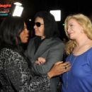 Gene Simmons and wife Shannon Tweed attend Relatively Media's
