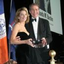 Charlie Rose and Amanda Burden