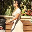 Draya Michele – With her boyfriend Tyrod Taylor at the Four Seasons in West Hollywood - 454 x 807
