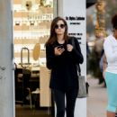 Emmy Rossum – Out for shopping in Beverly Hills - 454 x 681