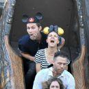 Kaley Cuoco at Disneyland in Anaheim