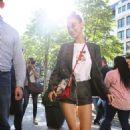 Bella Hadid – Visiting Louis Vuitton in Paris