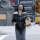 Camila Mendes – Out for a coffee run in Vancouver