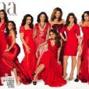 Selena Gomez, Salma Hayek, Michelle Rodriguez, Jessica Alba & other Cover 'Latina' - 454 x 224