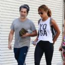 Halle Berry – Visits the Los Angeles Theatre Centre