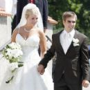 Claudia and Philipp Lahm wedding photo - 454 x 414
