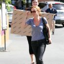 Christina Ricci - Shopping At Aaron Brothers In L.A. - August 11 2008