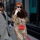 Christina Hendricks – Arrives at Build Series in New York City - 454 x 681