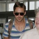 Ryan Gosling at the airport in New Orleans, Louisiana (August 3)