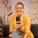 Ashley Roberts at AOL's Capper Street Studio in London